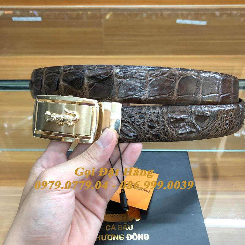 Thắt Lưng Cá Sấu Liền 3.5cm (Mã: L0178)