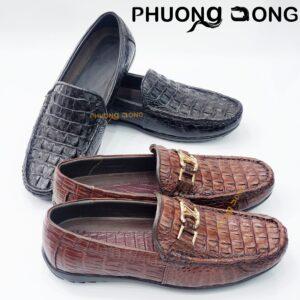 Giày Lười Da Lưng Cá Sấu - GL3900