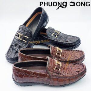 Giày Lười Da Gù Cá Sấu - GL4100