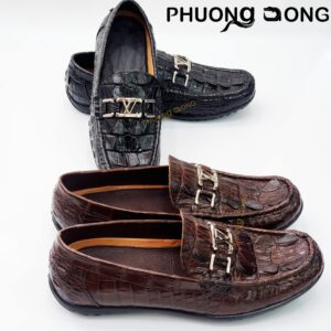 Giày Lười Da Đuôi Cá Sấu - GV3900