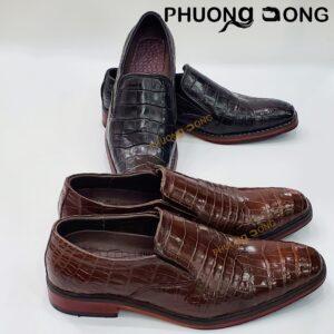Giày Tây Da Bụng Cá Sấu - GTB4500