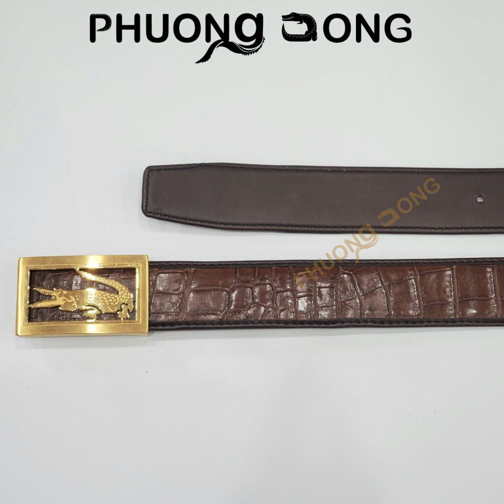 Thắt Lưng Liền Cá Sấu Đặc Biệt 4cm - Da Bụng