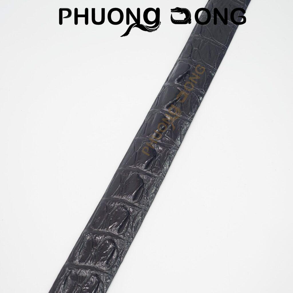 Thắt Lưng Cá Sấu Liền 4cm - Lưng Gai