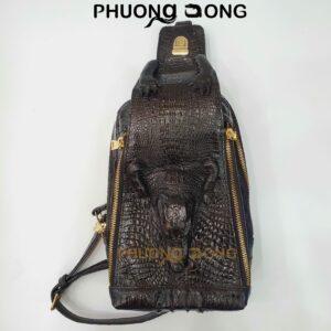 Túi Bao Tử Da Cá Sấu - B6375